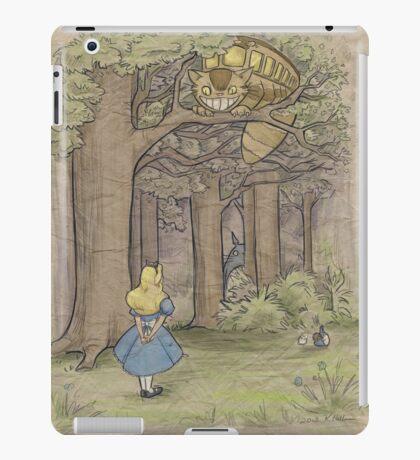 My Neighbor in Wonderland iPad Case/Skin