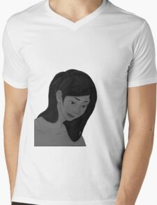 mystery Mens V-Neck T-Shirt
