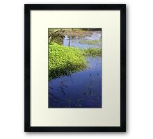 Reflections in Cahokia Framed Print