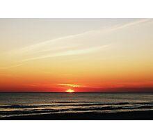 Sundown.... Photographic Print