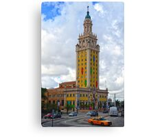 Miami: Freedom Tower Canvas Print