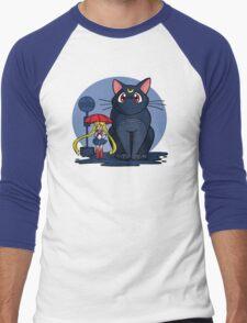 My Neighbor Luna Men's Baseball ¾ T-Shirt