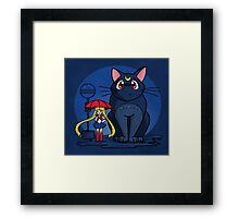 My Neighbor Luna Framed Print