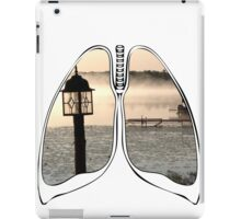 Lungs - Morning Lake Fog iPad Case/Skin
