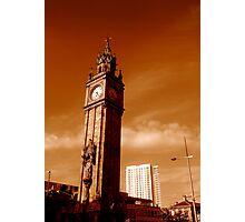 Albert Clock and Obel, Belfast Photographic Print