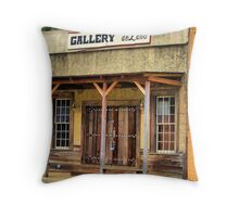 Dupe Gallery Throw Pillow