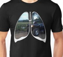 Lungs - ATV Trails Unisex T-Shirt
