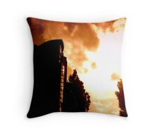 """""""The Boat"""", Belfast Throw Pillow"""