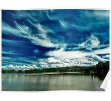 Amazing Sky over Stilec Poster
