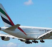 Emirates A380 Airbus by Neil280860