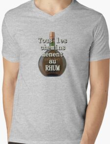 Rhum Mens V-Neck T-Shirt