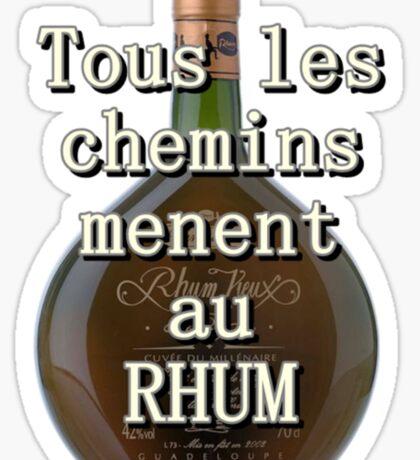Rhum Sticker