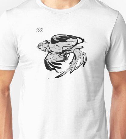 DoubleZodiac - Aquarius Rooster Unisex T-Shirt