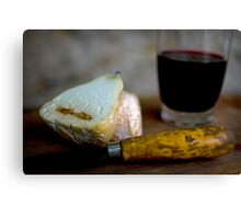 Cheese and Wine Canvas Print