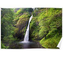 Horsetail falls, Oregon Poster