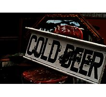 Cold Beer Photographic Print