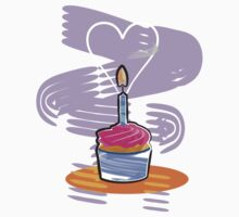 Happy Birthday Cupcake by evisionarts