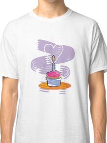 Happy Birthday Cupcake Classic T-Shirt