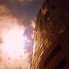 Belfast Obel from below by Chris Millar