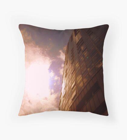 Belfast Obel from below Throw Pillow