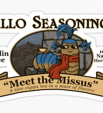 Meet the Missus Tea Sticker
