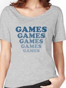'Games' tee from Adventureland Women's Relaxed Fit T-Shirt