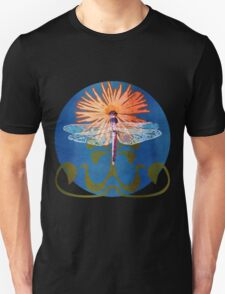 Dragonfly Flower T-Shirt