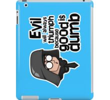 Spaceballs: Dark Helmet iPad Case/Skin
