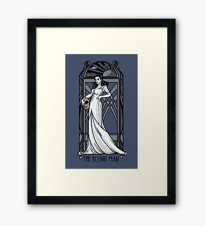The Flying Man Framed Print