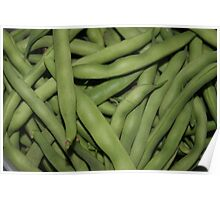 yummy green beans Poster