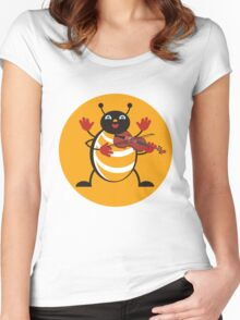 Viola Bug Women's Fitted Scoop T-Shirt
