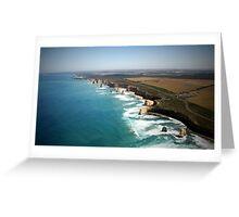 Twelve Apostle Great Ocean Road - Landscape View Greeting Card