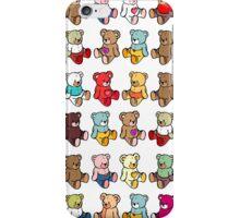 Colourful Teddy Bears iPhone Case/Skin