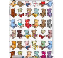 Colourful Teddy Bears iPad Case/Skin