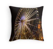 Belfast Wheel Throw Pillow