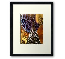 Victoria Square Christmas Tree, Belfast Framed Print