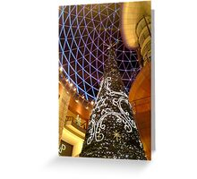Victoria Square Christmas Tree, Belfast Greeting Card