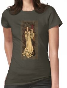 Theatre in Spacetime Womens Fitted T-Shirt