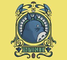 Forest Spirit Nouveau One Piece - Short Sleeve