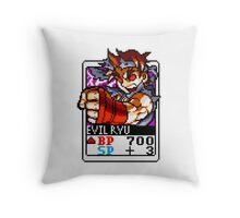 Evil Ryu Throw Pillow