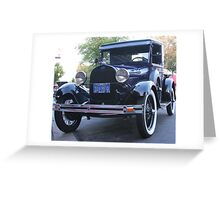 1930 Model A Ford Pick-Up  Greeting Card