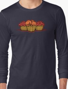 Cupcake Cats Long Sleeve T-Shirt