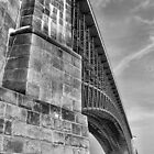 Eads Bridge, St. Louis. by Crystal Clyburn