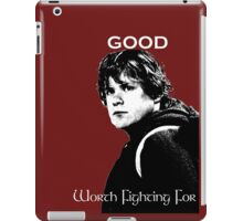 Samwise Gamgee - A Good Worth Fighting For iPad Case/Skin