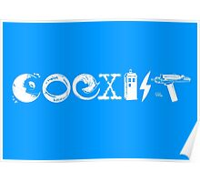 COEXIST - Let the Worlds of Nerdom Unite! Poster