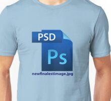 hilarious image file name icon  Unisex T-Shirt