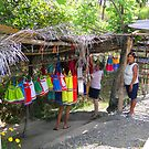 Roadside Vendors, Panama by Al Bourassa