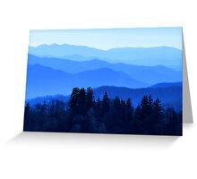 Great Smokey Mountains, USA Greeting Card