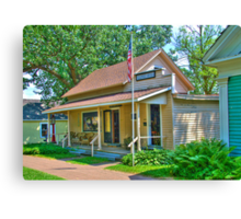 General Store & Post Office Canvas Print