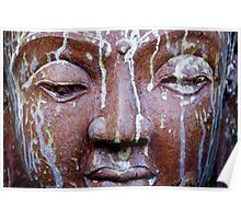 Weathered Budha Poster